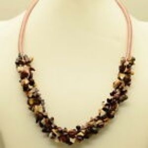 Jewelry - Natural Mookaite Chip Necklace